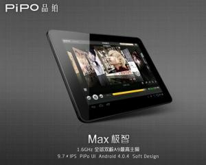 China Pipo M1 with 9.7 inch IPS Dual Camera ,Rockchip 3066,1.6Ghz,Dualcore Tablet pc Android 4.1 on sale