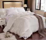 China EUO Cotton Grey Down Feather Quilt Luxurious Duvet For Hotel / Home wholesale