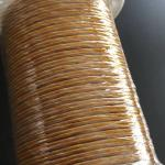3KV Hot Melt Mylar Film Copper Litz Wire 0.071mm x 100 Magnet Wire Dimensional Stability