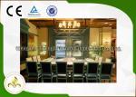 La tabla de calefacción electromágnetica de la parrilla de Teppanyaki modificó capacidad de 10 asientos para requisitos particulares