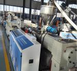 Full Automatic WPC Board Production Line , Wood Plastic Extruder