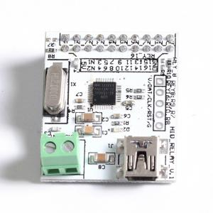 China 16 8 Channel Relay Module Driver Less HID Mini USB Control PCB / Metal Material on sale