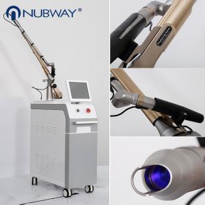China Medical CE Approval nd yag laser tattoo removal 1064nm & 532nm Q switch Nd Yag Laser Tattoo Removal Machine on sale