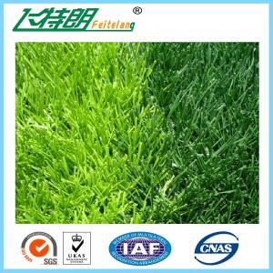 China Classic Soccer Field Artificial Turf Grass 55 Mm Pile Height Monofilament Yarn on sale