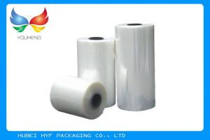 China 40 Micron Label Shrink Film Rolls For Gravure Printing Heat Shrink Bands on sale