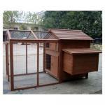Gallinero de madera vendedor superior de la gallina con funcionamiento grande