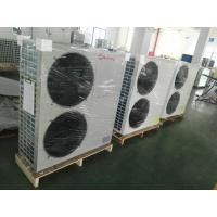 Wall Mounted 5 Ton Hydronic Heat Pump Galvanized Steel Sheet With LCD Finger Touch Display