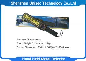 China Portable Hand Held Metal Detector With Adjusted High / Low Sensitivity Switch on sale