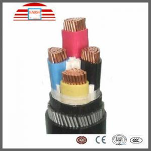 China Waterproof PVC / XLPE Insulated Electrical Cables And Wires 4 Core Power Cable Low Voltage on sale