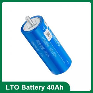 China Yinlong 66160 LTO 40AH Titanate Lithium Ion Brand New Battery For Car Audio 16000 Long Life Cycle on sale