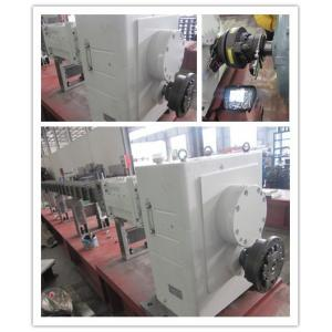 China High Strength Alloy High Torque Gearbox For Co Rotating Twin Screw Extruder Machine on sale