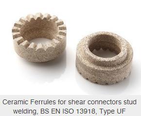 China Ceramic ferrule / Shear connector stud on sale