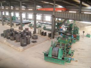 China Straight Seam Welded Pipe Production Line Tube Making Line High Speed on sale
