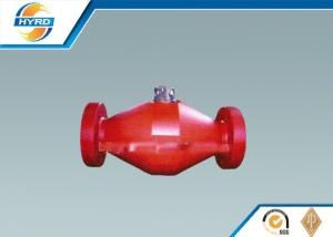 China Durable Self Enclosed Spring Loaded Check Valve For Solid Control System on sale