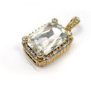 China crystal Jewelry Pendant USB Flash Drive on sale