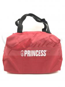 China Red 600D Polyester Small Travel Tote Bag With Zipper Environmental Protection Material on sale