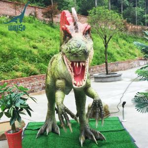China Life Size Alive Animatronic Spinosaurus Dinosaur Statues on sale
