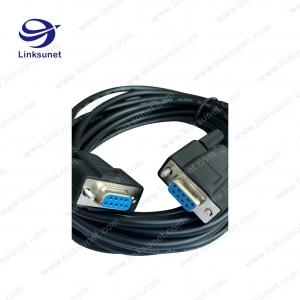China D - Sub DB 9PIN male / female 5M Zinc die casting wire harness Customized on sale