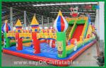 Kids Fun Inflatable Castle , Large Inflatable Bouncer , Giant Bouncy Castle