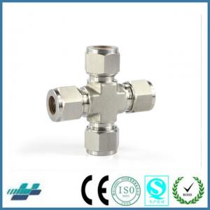 China hot sale stainless steel union cross fittings pipe fittings pipe joints on sale