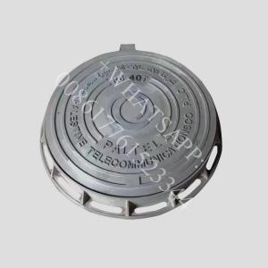 China d400 850x850  waterproof lockable bolted  ductile iron plaque de regard en fonte on sale