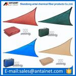 HDPE Plastic shade sail,durable and beautiful shade sail