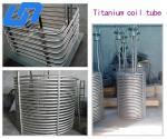 China Snake shape Gr1,Gr2 titanium coil tube for heat exchanger Titanium Tube Heat Exchanger wholesale