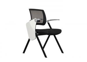China Aluminum Armrest  Steel Pipe Ergonomic Folding Office Chair For Classroom on sale