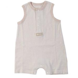 China Embroidered Organic Cotton Baby Clothes Infant Baby Romper Single Piece Suit on sale