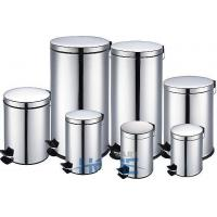 Round Step-Open Stainless Steel Dustbin