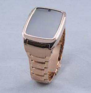 China GD999 Watch Mobile Phone,Wrist Mobile Phone,Watch Cellphone Steel Case Quad Band Java Came on sale