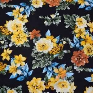 China Breathable Lady Children Dress Sustainable Viscose Challis Fabric on sale