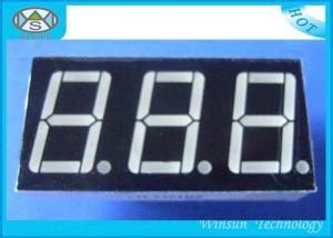China 0.8 Inch 7 Segment Led Displays , Counter Display Three 3 Digit For Household Eletronics on sale