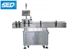 China Single Side Automatic Labeling Machine Round Bottle Use Servo Motor Driven Type on sale