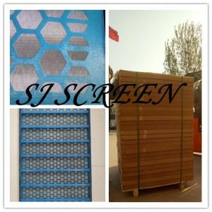 China Strong Solid Shale Shaker Mesh Screen High Screen Frame Strength Flat Surface on sale