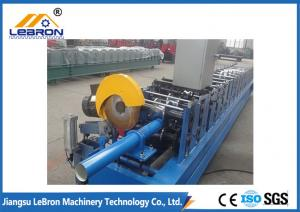 China square and round metal downspout roll forming machine / steel downpipe roll forming machine on sale