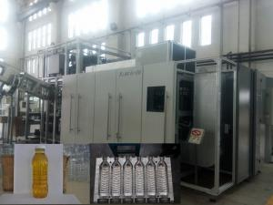 China 330mL - 2L Semi Automatic Blowing Filling Capping Combiblock For Pet Bottles Moulding on sale