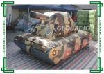 China Customized Camouflage Inflatable Paintball Bunkers Sporting Air Tank wholesale
