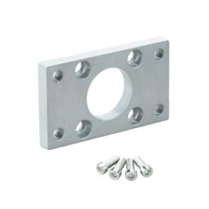 China FA / FB Pneumatic Cylinder Accessories , Gray Cylinder Mounting Accessories Flange on sale
