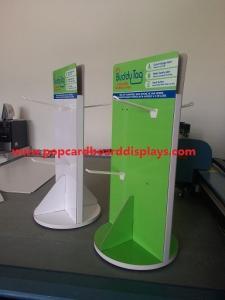 China Spinner Display Racks rotatable cardboard spinning display rack on sale