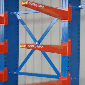 China Outdoor powder coating Heavy duty cantilever racking;cantilever racking on sale