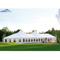 From 3m To 60m Width Aluminum Frame Wedding Marquee Tent With PVC Wall