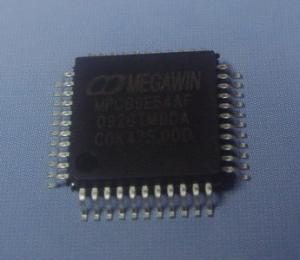 China Megawin 8051 microprocessor 89E54AF MCU / 8051 Processor on sale