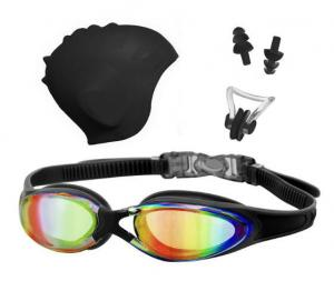 China Swimming goggles&Caps set for Adult on sale
