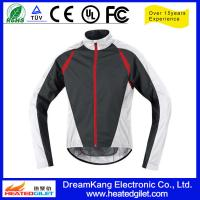 China Outdoor Polyester Pongee Heat Protection Motorcycle Rain Jacket on sale