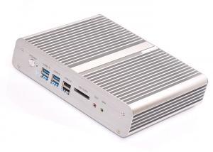 China Intel? Core? i7-4500U dual NIC fanless mini PC support 1080P display barebone on sale