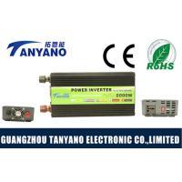 China Modified Sine Wave Power Supply Inverter DC To AC 2000W 24V To 110V / 220V on sale