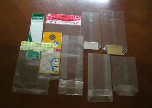 China High Transparent Cellophane Candy Plastic BOPP Header Bags Can Make Into Sandwich Bag on sale