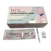 Early Response HCG Pregnancy Test Kits Strip Format With 2.5mm 3.0mm Width