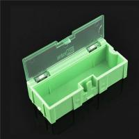 Durable Green SMD Storage Box , Plastic Electronic Components Box
